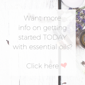 essential oil get started