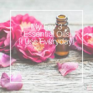 essential oils favorites