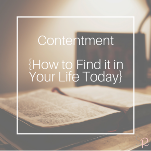 Living Free Contentment