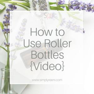use roller bottles