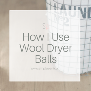 use wool dryer balls