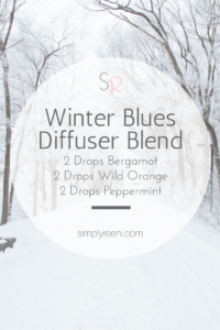 winter blues diffuser blend