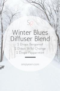 winter blues diffuser blend