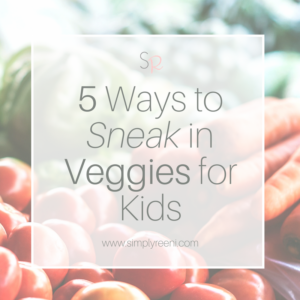sneak in veggies