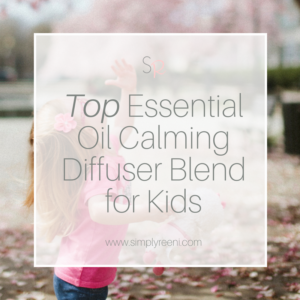 Essential oil calming blend for kids