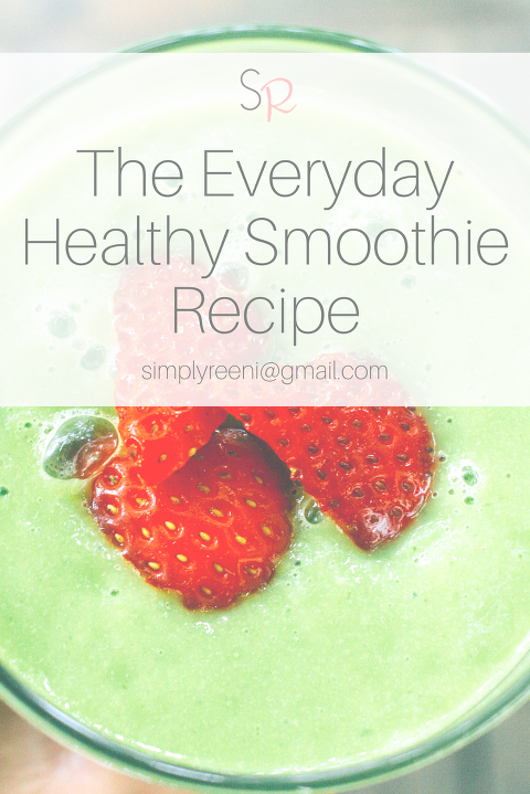 everyday health smoothie recipe