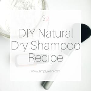 DIY Natural Dry Shampoo Recipe