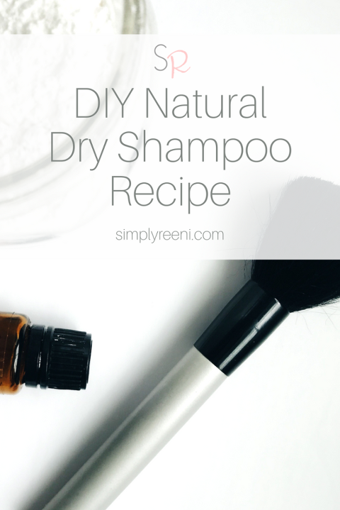 DIY Natural Dry Shampoo Recipe
