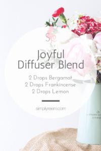 Joyful Essential Oil Diffuser Blend