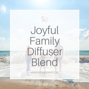 Joyful family diffuser blend