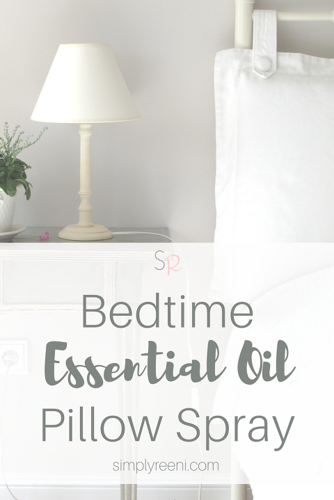Bedtime Essential Oil Pillow Spray Recipe