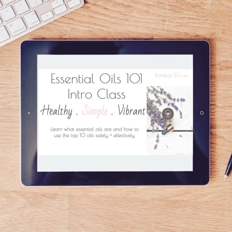 essential oils 101 webinar