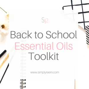 Back to school essential oils toolkit cover