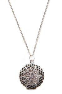 diffuser locket necklace