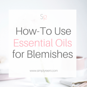 how to use essential oils for blemishes cover