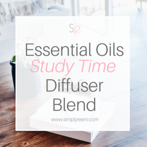 Essential Oils Study Time Diffuser Blend