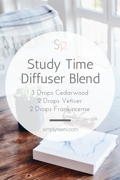 Study Time Diffuser Blend