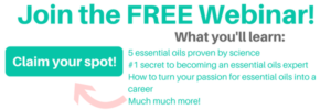 Certified Essential Oils Coach Webinar