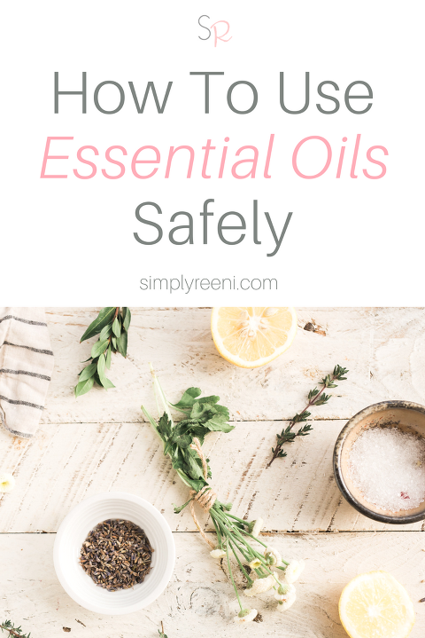 how to use essential oils safely post