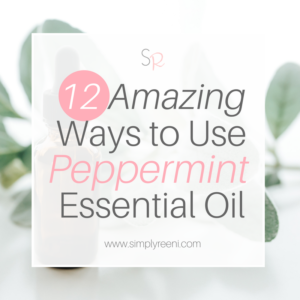 ways to use peppermint essential oil