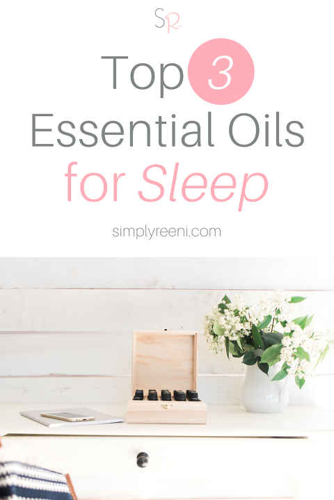 top 3 essential oils for sleep
