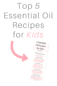 5 essential oil recipes for kids