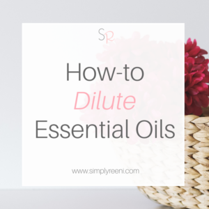 how to dilute essential oils cover