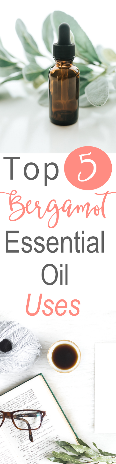 There are so many ways to use essential oils. Bergamot essential oil offers some great therapeutic benefits. Here are the top 5 bergamot essential oil uses and benefits! Read now or pin for later! // www.simplyreeni.com