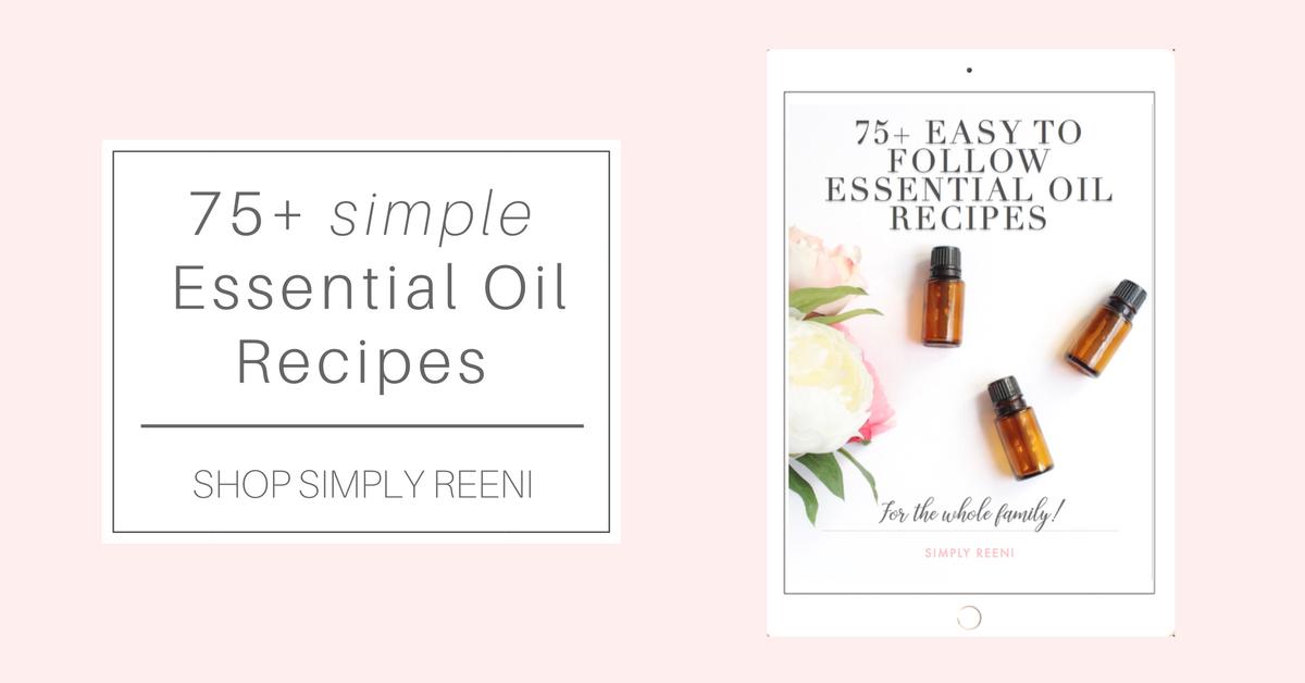 75 simple essential oil recipes simply reeni