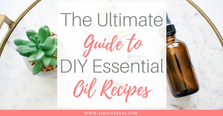 Diy Essential Oil Recipes