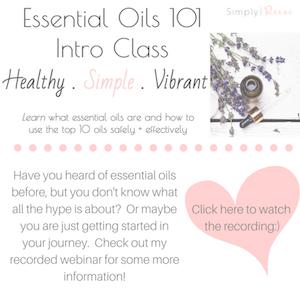 essential oil 101 webinar